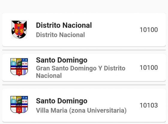 Codigo Postal Republica Dominicana